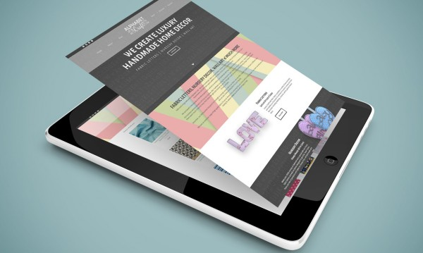 Alphabet Crafts Ecommerce Website Design
