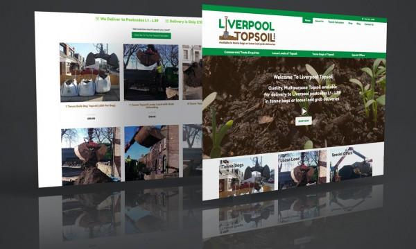 Liverpool Topsoil Ecommerce Web Design