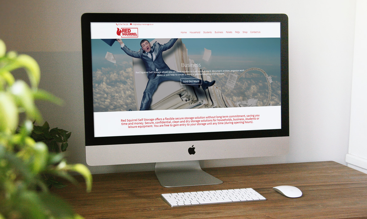 Red Squirrel Website Development